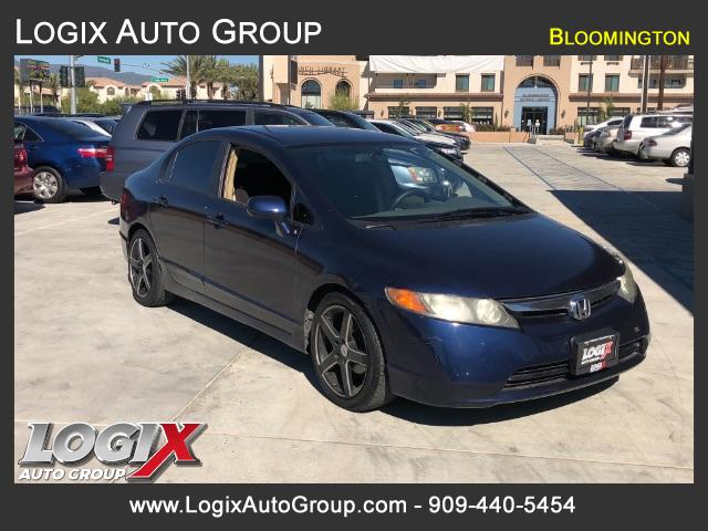 2006 Honda Civic LX Sedan AT - San Bernardino #063857