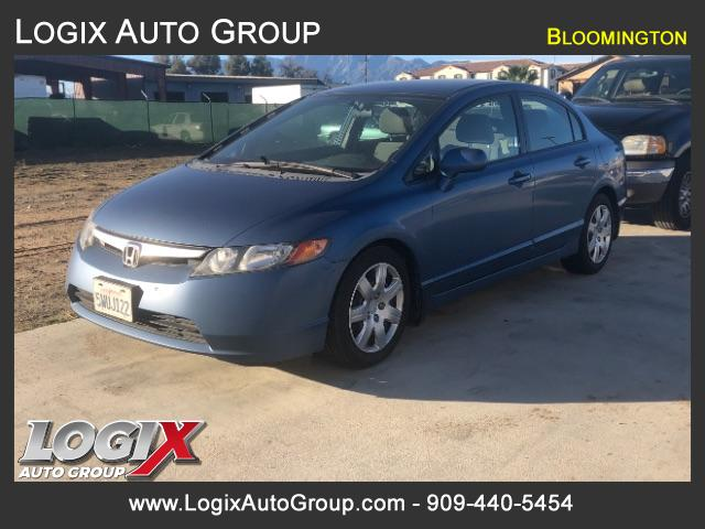 2007 Honda Civic LX Sedan AT - San Bernardino #000744
