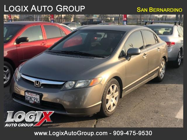 2008 Honda Civic LX Sedan AT - San Bernardino #300376