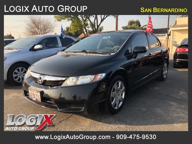 2009 Honda Civic LX Sedan 5-Speed AT - San Bernardino #326484