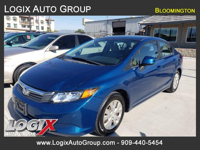 2012 Honda Civic LX Sedan 5-Speed AT - Bloomington #581534