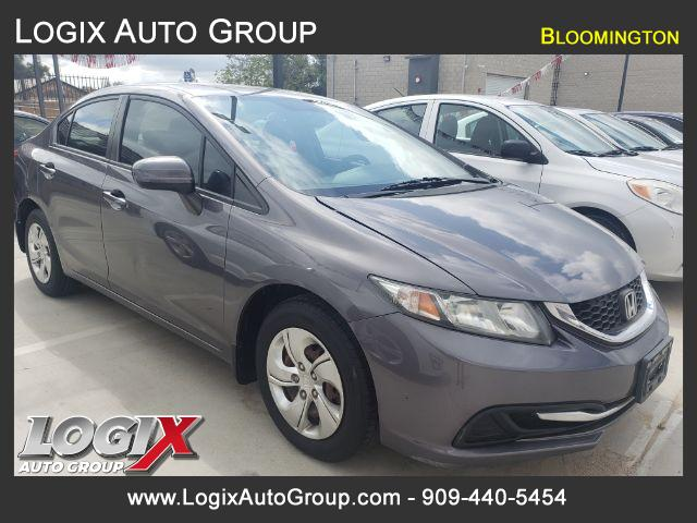 2015 Honda Civic LX Sedan CVT - Bloomington #527061