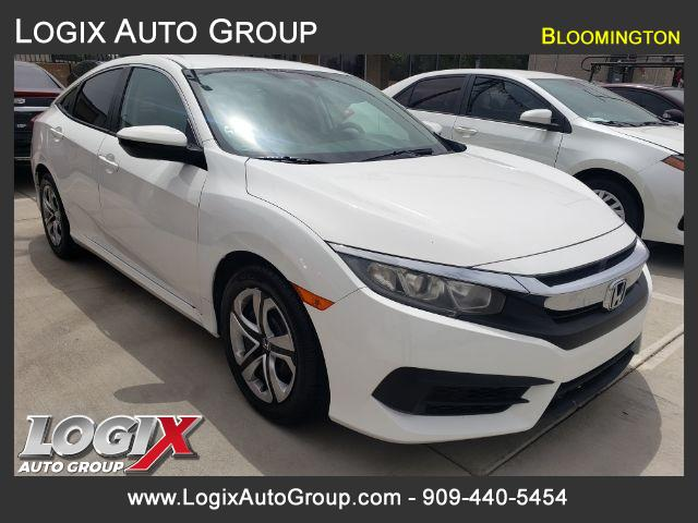 2016 Honda Civic LX Sedan CVT - Bloomington #519020